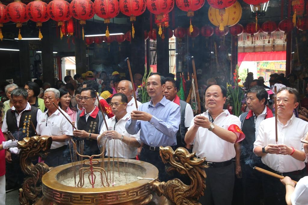 淡水清水巖5月祭典清水祖師平安遶境活動
